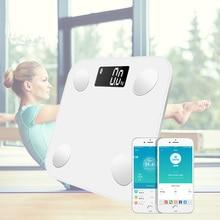 Electronic Digital Body Fat Bathroom Scale Floor Smart Bluet