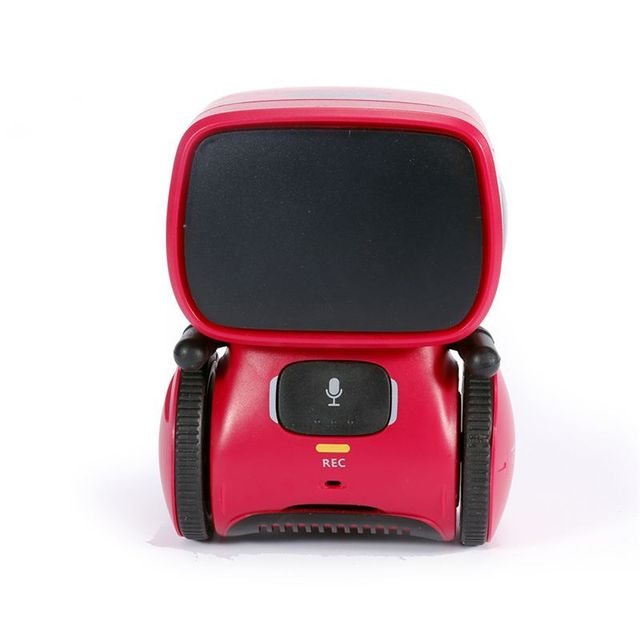 Domibot APOLLO Green/Yellow/Red Smart RC Robot Voice Control Click Sensitive Voice Record Mode Walking Robot Children Toys Gift