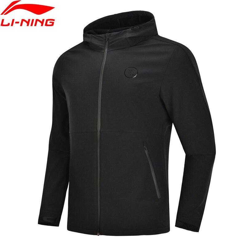 Li Ning Men Wade Series Sports Coat Windbreaker Hoodie Windproof Comfort LiNing Sport Hooded Trench AFDN401