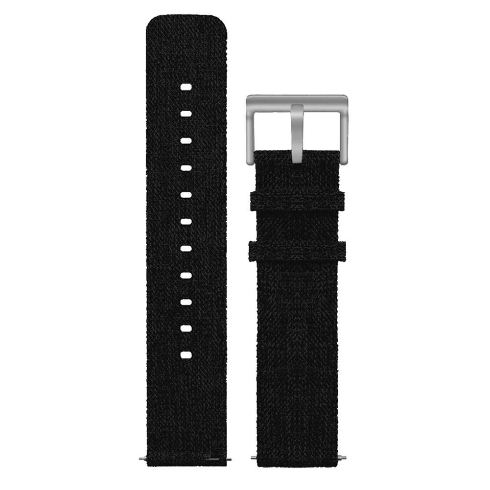 Image 5 - Bracelet Replacement Wristband Watch Band Premium Canvas Strap Clasp For Fitbit Versa Fitbit Versa Lite Smartwatch High Quality-in Smart Accessories from Consumer Electronics