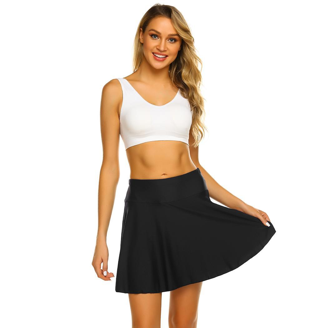 Swimwear Women High Waist Swimming Skirt Safety Bottoming Briefs Pool, Resort, Beach, etc Sporting Slim Pants SkirtSwimwear Women High Waist Swimming Skirt Safety Bottoming Briefs Pool, Resort, Beach, etc Sporting Slim Pants Skirt