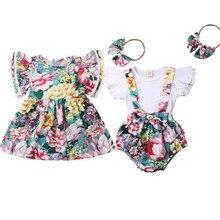 Изысканная детская одежда для девочек, летняя одежда для новорожденных и маленьких девочек, комплект одежды из топа и шорт