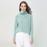 turtleneck sweater winter women thickening angora knitting sweater women turtleneck sweater women pullover knitted 1895