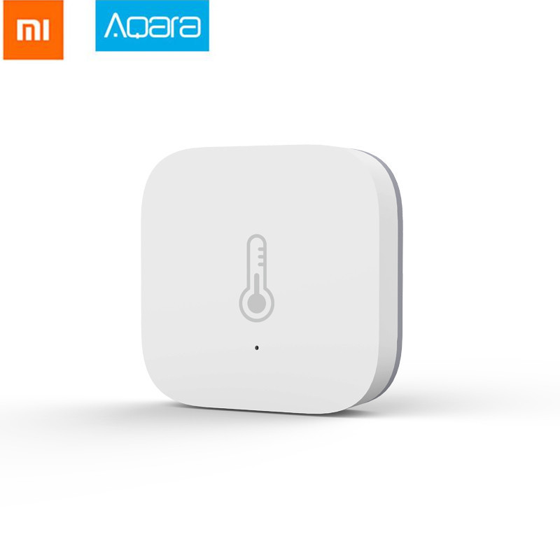 New Original Xiaomi Aqara Smart Air Pressure Temperature Humidity Environment Sensor Work With Android IOS APP Fast Ship