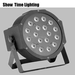Pokaż czas led światło dla etap 18 u nas państwo lampy RGB DMX 512 sterowania Led oświetlenie imprezowe dla klubu Dj Show strona główna w Oświetlenie sceniczne od Lampy i oświetlenie na
