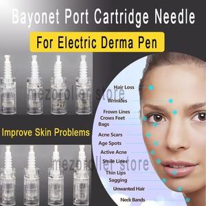 Image 2 - 50pcs/lot MezoRoller Bayonet Cartridge Replacement For Derma Pen Micro needle 9 pin / 12 pin / 36 pin / nano Micro Nano Needle