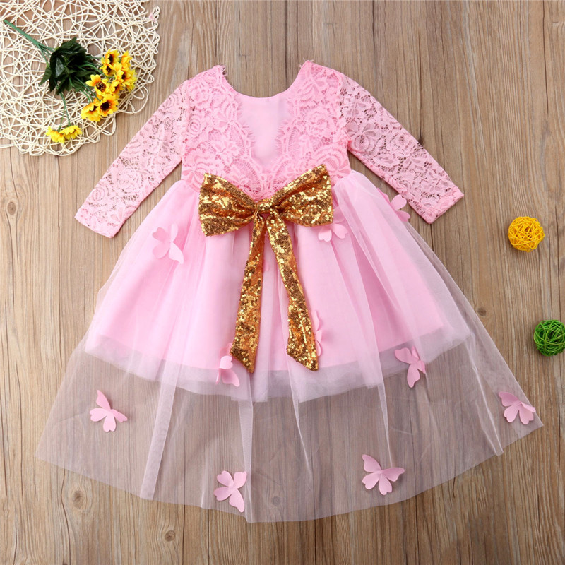 83c1a8548916 Detail Feedback Questions about 2018 Princess Dress Baby Girls Kid ...