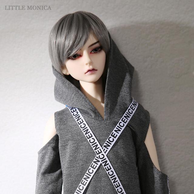 New Arrival Littlemonica LM Luke 1/3 BJD SD Dolls Baby Girls Boys Toys Eyes Resin Figures Body Model High Quality Gifts For Xmas