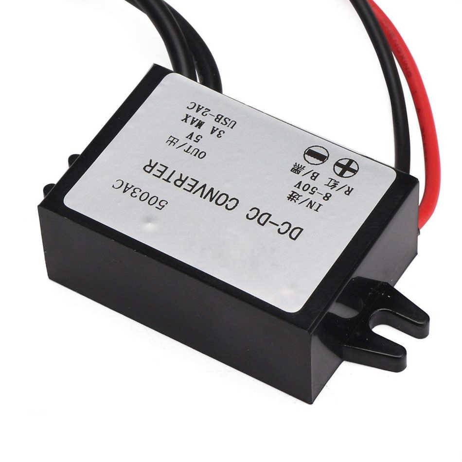 Buck конвертер 3A регулятор напряжения модуль понижающий редуктор 12 В/24 В/36 В до 5 В трансформатор двойной USB Ухо для мобильного телефона