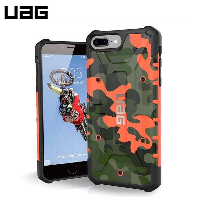 Защитный чехол UAG Pathfinder для iPhone 8/7 Plus цвет Оранжевый камуфляж/IPH8/7PLS-A-RC/32