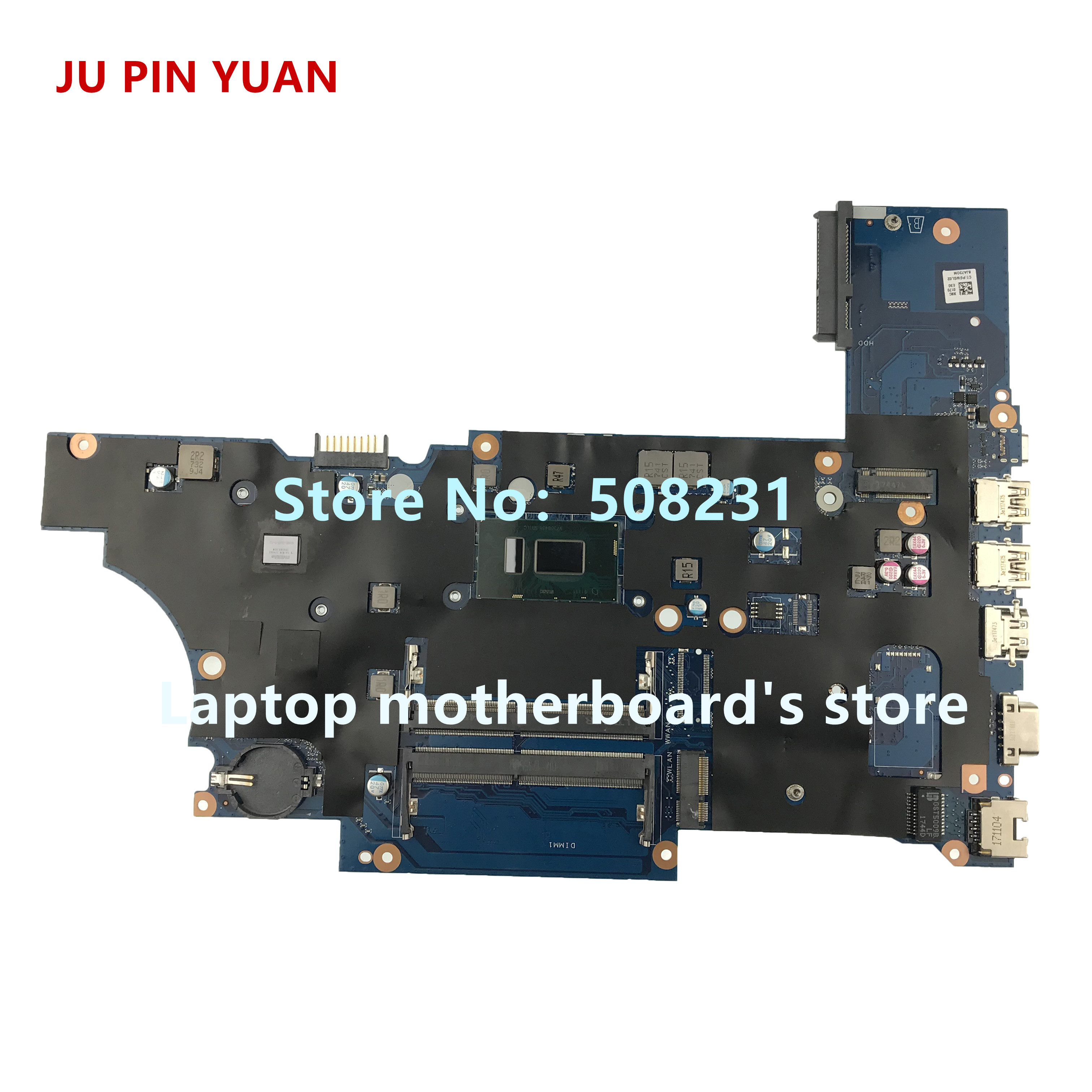 Ju Pin Yuan L00824-601 L00824-001 Da0x8cmb6e0 Laptop Motherboard For Hp Probook 450 G5 Notebook I5-8250u Fully Tested Laptop Accessories Laptop Motherboard