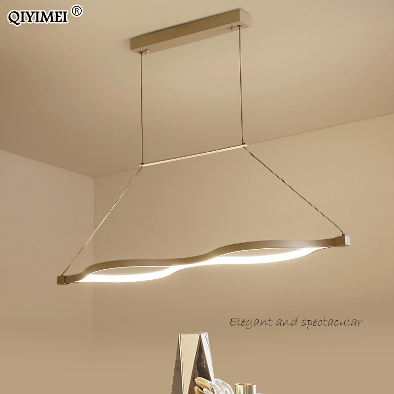 white coffee Modern LED pendant lights Kitchen aluminum silica suspension hanging cord lamp for dinning room lamparas fixtureswhite coffee Modern LED pendant lights Kitchen aluminum silica suspension hanging cord lamp for dinning room lamparas fixtures