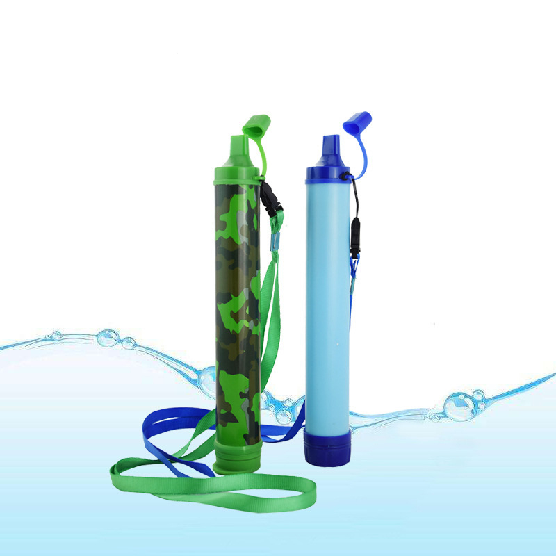 Portable Water Filter Straw Purifier Cleaner Emergency Safety Survival Drinking Tool Kit