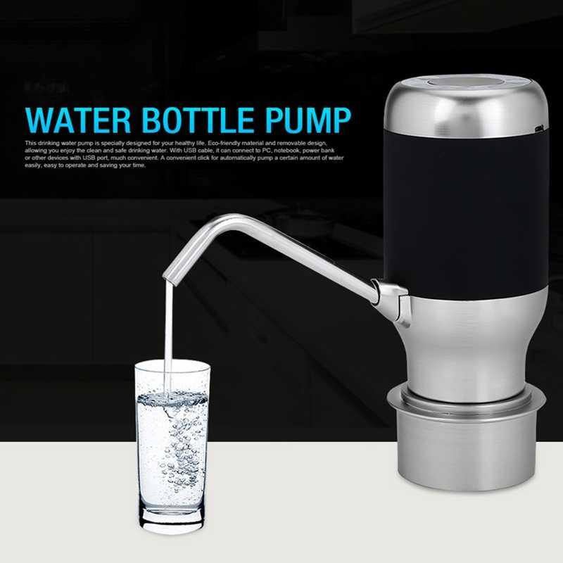 Беспроводная электрическая автоматическая бутылка для воды насос умный диспенсер с Usb Перезаряжаемый Электрический аккумулятор бутылка для питьевой воды Pum