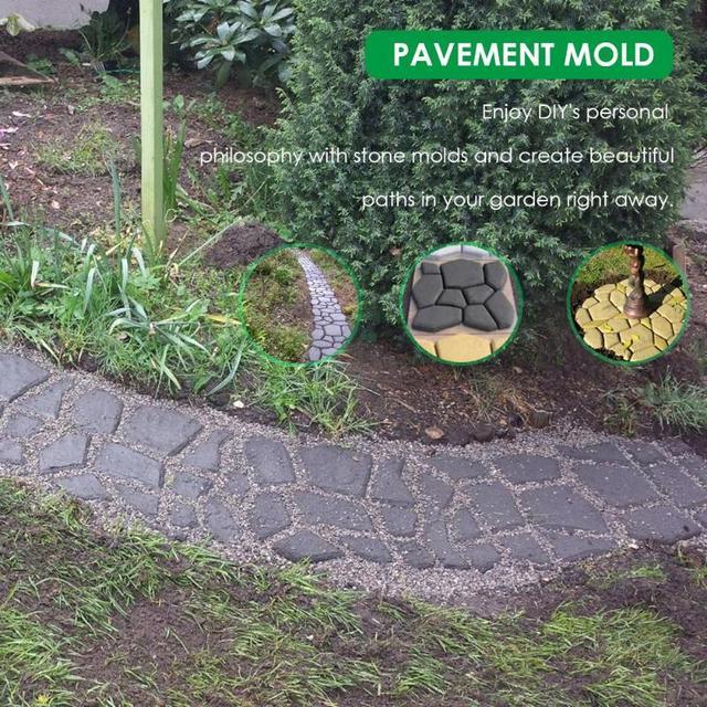 Garden Path Maker Paving Mold