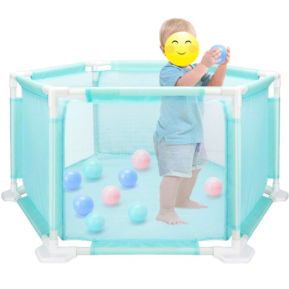 Bébé activité parcs à balles piscine jouets pour enfants barrières de sécurité jouer cour jeu clôture pour les nouveau-nés nourrissons enfants parc jouet