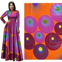New National Wind Cotton Printed Fabric Plain Geometric fabric in 2019 100% cotton  for dress