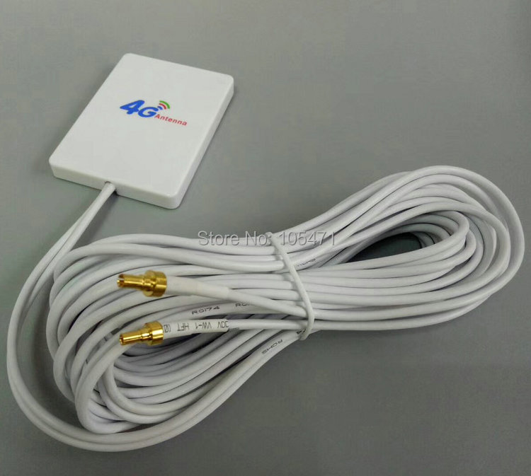 3G 4G External Antennas for E5573 E5372 E5776 E5377 E5577 E8372 E5878 E398 E 28dbi TS9  4G LTE Router Antenna with 3m cable Redmi