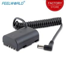 Feelworld BLE 19E манекен Батарея для F5 FW568 S55 MA5 монитор DC Выход Совместимость с Lumix DMC-GH3 DMC-GH4 DC-GH5 камеры