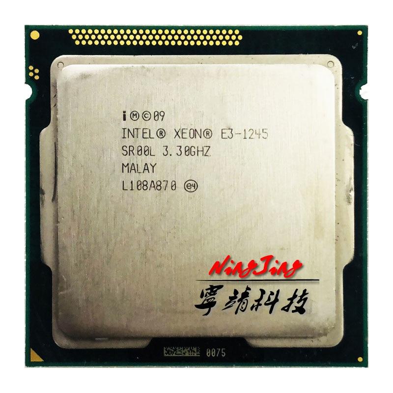 Intel Xeon E3 1245 E3 1245 3 3 GHz Quad Core CPU Processor 6M 95W LGA