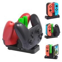 Charging Dock For Nintend Switch Controller 6-in-1 LED Charger For Nintendo Switch Gamepad Charge Stand For Joy-con Pro стоимость