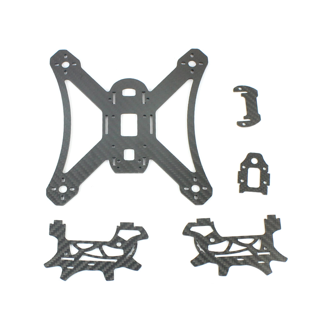 RAMMUS 180 180mm 210mm Frame Kit for DIY FPV RC Racing Drone KingKong Quadcopter Airplanes F19960