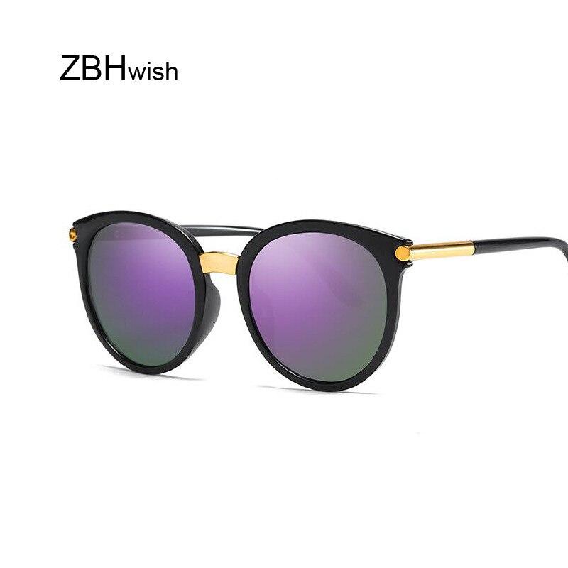 Retro Round Sunglasses Women Brand Design Black Female Sun Glasses Lady Oculos De Sol Feminino Lunette Soleil