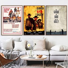The Good, Bad, And the Ugly Poster Prints Oil Painting On Canvas Wall Art Murals Pictures For Bedroom Decoration No Framed