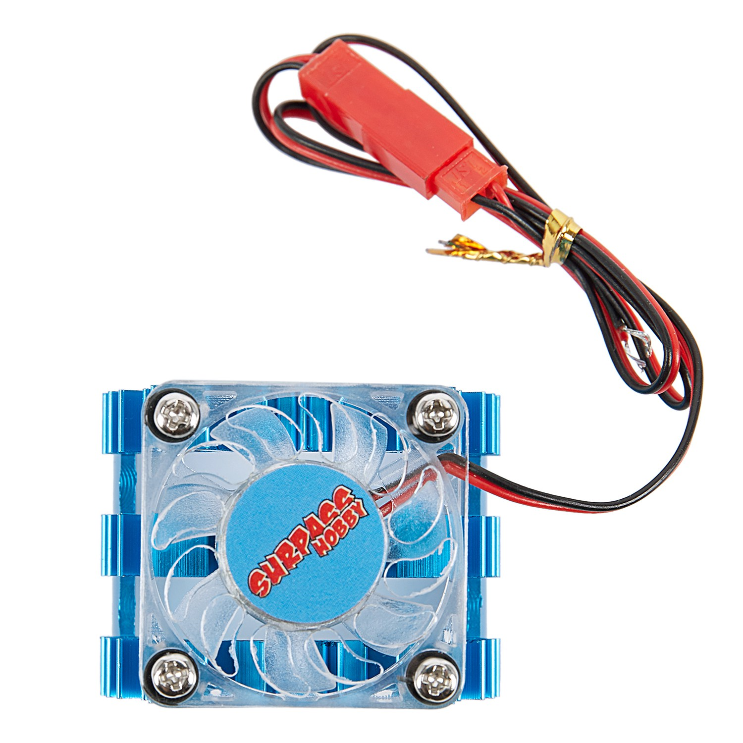 SURPASS HOBBY RC 36mm 540 Motor Heat Sink Heatsink With Cooling Fan For 1/10 1/8 RC Car Remote Control Car Accessory