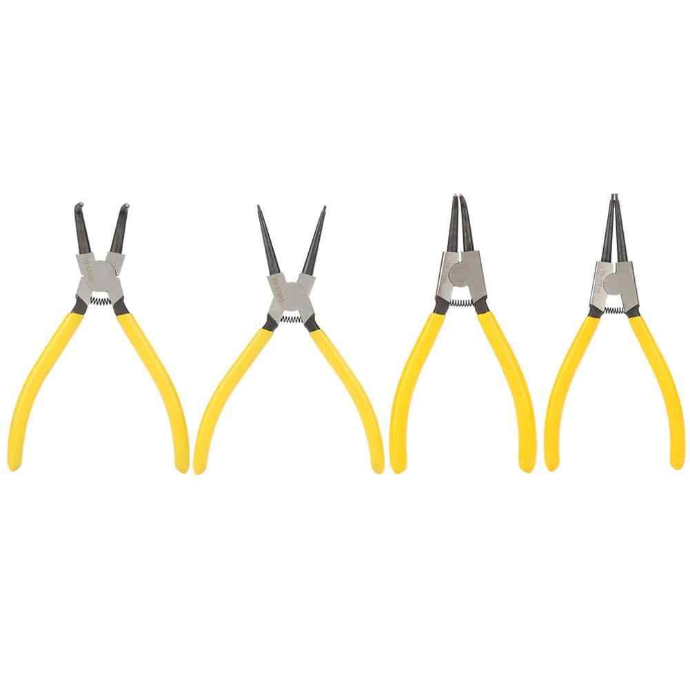 7in ручка из нержавеющей стали Изогнутые зажимные плоскогубцы с кольцом
