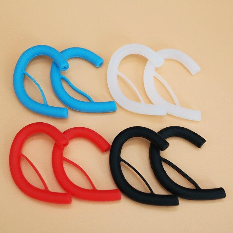 10pcs/5pairs 4color Silicone Earphone Clip Hook Earhook Headphone Ear hook hanger for Universal Headset Earphone