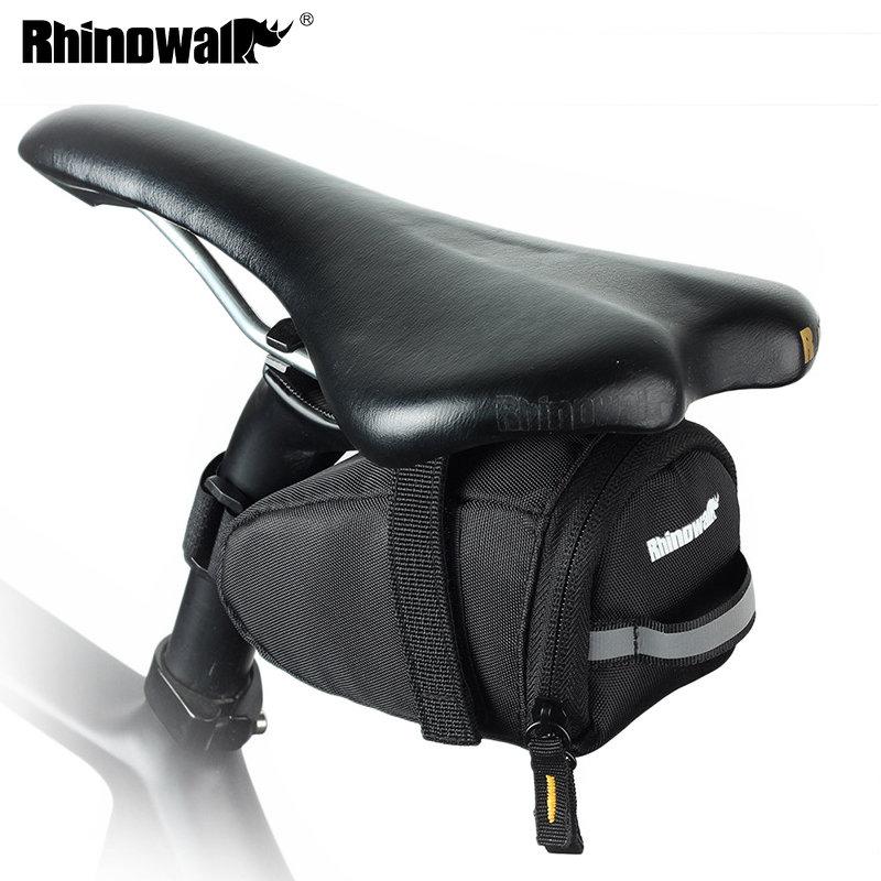 US Bicycle Saddle Bag Waterproof MTB Mountain Bike Rear Back Under Seat Tail Bag