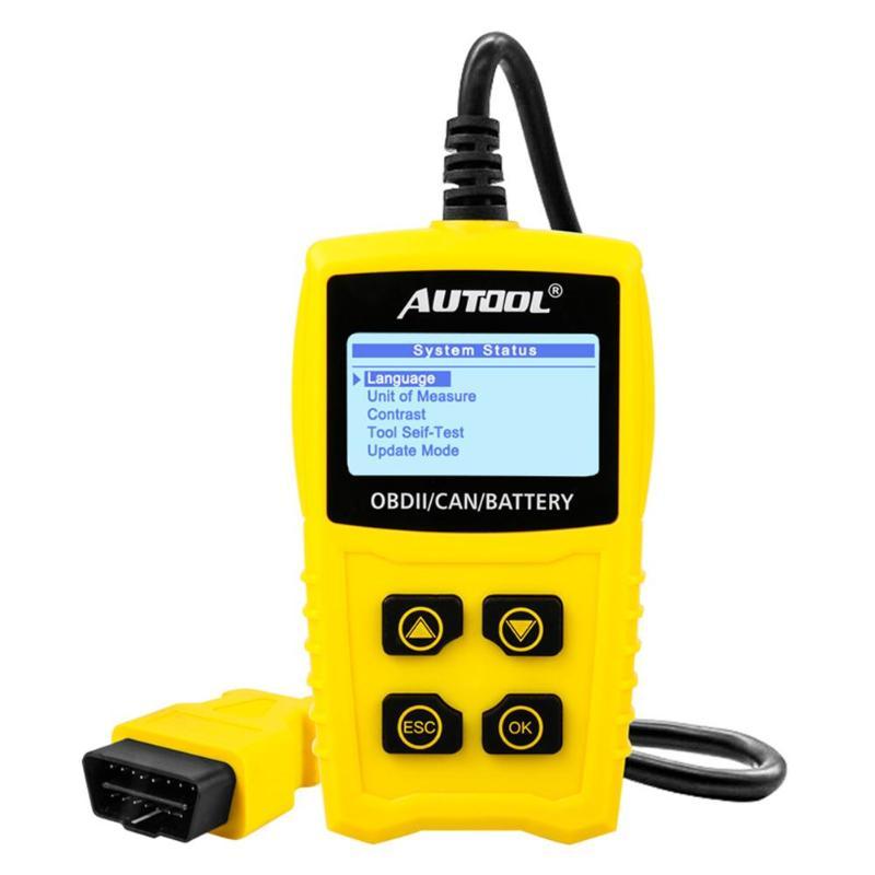 AUTOOL CS330 OBD2 Scanner Car Diagnostic Tool Accessories OBDII Car Repair Tool Auto Fault Code Reader
