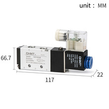 CHINT Electromagnetic Valve 4v210-08 Two Position Five Way Reversing 24v 12v Coil 220v