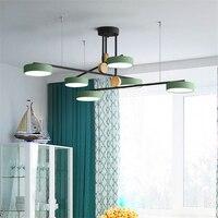 Nowoczesne Led Chandelire oświetlenie luksusowe lampy wiszące obróć sypialnia jadalnia pokój dzienny lampy wiszące kuchnia oprawy oświetleniowe w Wiszące lampki od Lampy i oświetlenie na