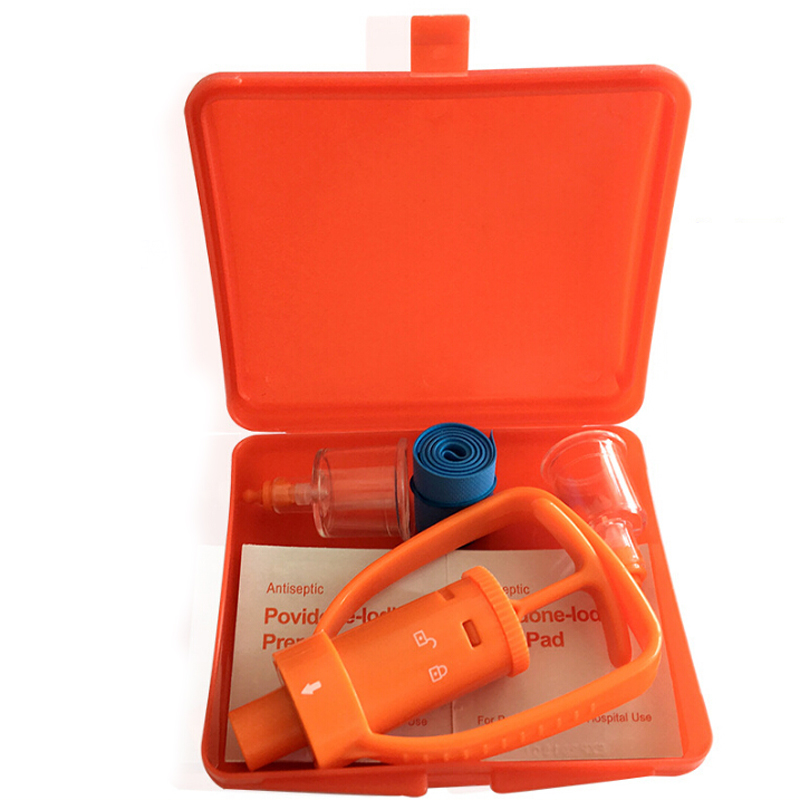 Image 2 - Emergency Venom Extractor Pump Portable Practical First Aid Kit Supplies For Travel Camping Safety Anti Snake Bite Protector-in Safety & Survival from Sports & Entertainment
