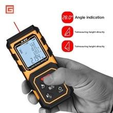 Digital 60M 80M 100M Handheld Rangefinder Laser Distance Meter Range Finder Tape Measure Tester Diastimeter Tool цена