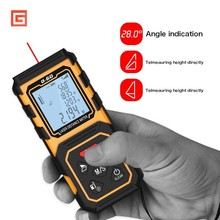 Digital 60M 80M 100M Handheld Rangefinder Laser Distance Meter Range Finder Tape Measure Tester Diastimeter Tool