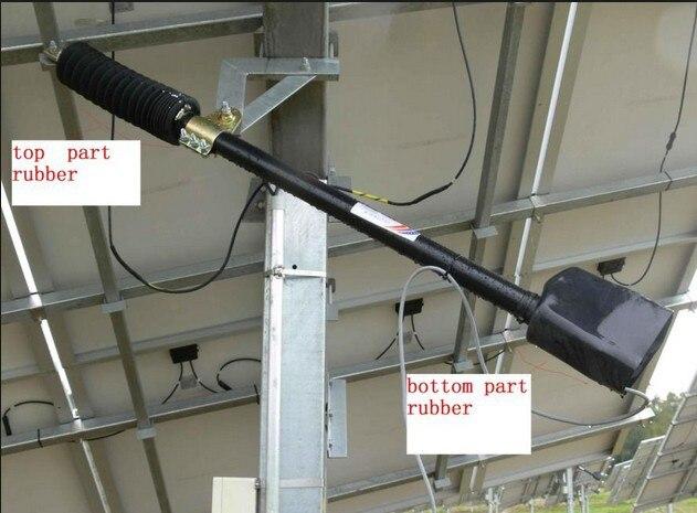 Livraison gratuite DC 12 V système de suivi de suivi solaire 1KW Kits actionneur linéaire