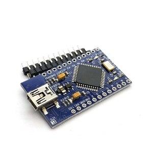 Image 3 - Mini USB ATmega32U4 Pro Micro 5 V 16 MHz Bord Modul/Leonardo ATMega 32U4 Controller Pro Micro Ersetzen pro Mini Für Arduino