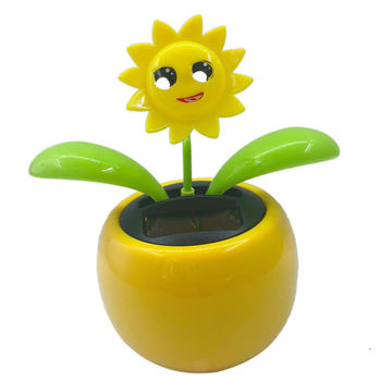 Flip Flap Solar Powered Flower