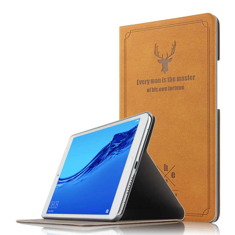 "PU Leather Case For Huawei MediaPad Honor Waterplay 8.0 HDL-W09 AL00 8""Tablet Stand Cover for Docomo dtab Compact d-02K 8.0 case"