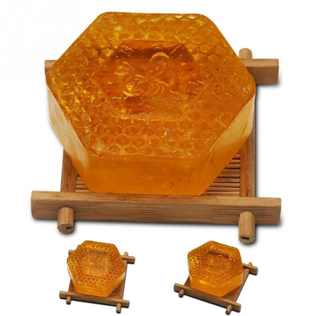 Essential Oil Moisturizing Smell Deep Cleansing Honey Smell Soap Spa Handmade Soap Cleaning Dirt Anti Aging Skin Care #518 5