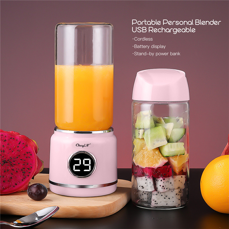 Portable Electric Juicer Blender USB Fruit Mixers Juicers Fruit Extractors Smoothie Blender Orange Lemon Juicer Maker MachinePortable Electric Juicer Blender USB Fruit Mixers Juicers Fruit Extractors Smoothie Blender Orange Lemon Juicer Maker Machine