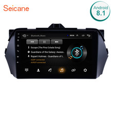 Seicane 2Din 9 polegada Rádio Do Carro Android 8.1 Quad-Core HD 1024*600 Tochscreen Wifi Multimedia Player GPS para 2016 Suzuki Alivio(China)