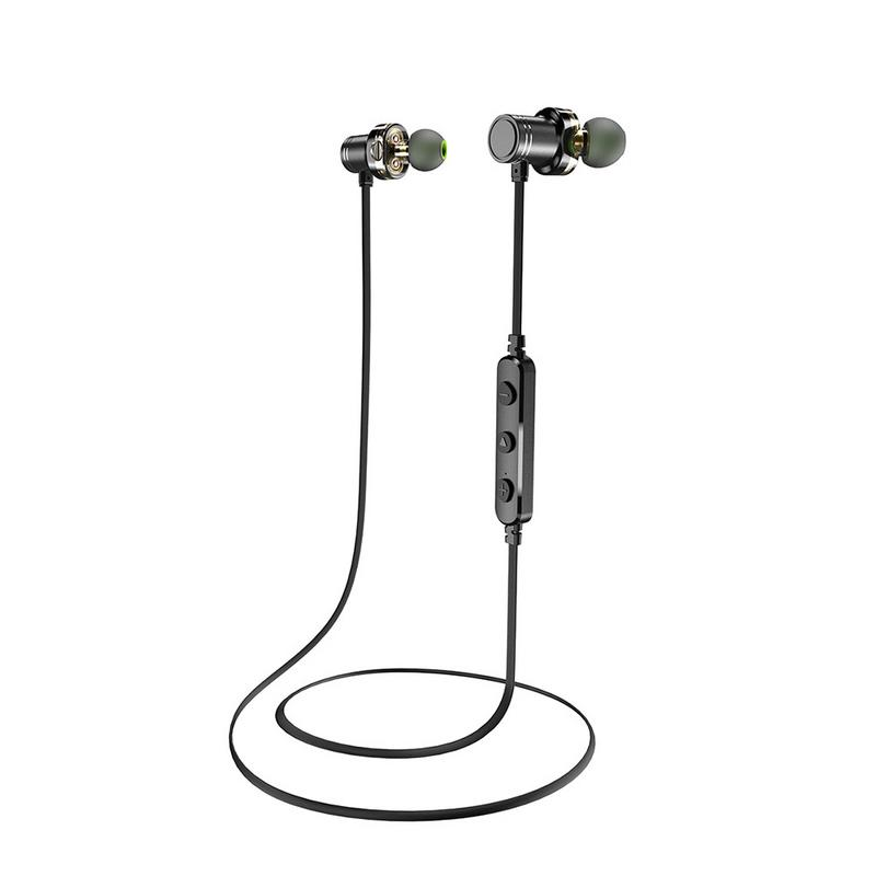 Image 2 - Portable Earphones Wireless Bluetooth Earphone Mini Metal Earbud Stereo Hd Sound Music Sport Waterproof Outing Devices With Mic-in Phone Earphones & Headphones from Consumer Electronics