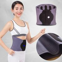 Adjustable Steel Plate Belt Lumbar intervertebral disc Black, Gray Protection Waist Breathable Belt