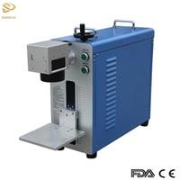DIY 20W 30W Portable Fiber Laser Marking Machine 50W Metal Stainless Steel Marker Laser Engraving Machine Deep Engraver