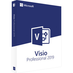 Microsoft Office Visio Professional 2019 для Windows Digital License 1 User