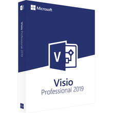 Microsoft Office Visio Professional 2019 For Windows Digital Delivery License 1 User user